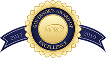 MPRO Governor's Award of Excellence 2017-2019